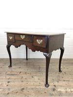 Antique Oak Lowboy Side Table (8 of 10)