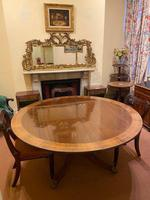 Large High-quality Circular Mahogany Tilt-top Dining Table c.1920-1930 (2 of 6)