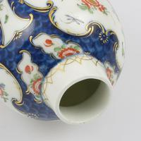 First Period Worcester Blue Scale & Kakiemon Tea Canister / Caddy (8 of 11)
