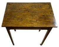 Small George III Mahogany Centre Table (3 of 8)