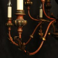 Florentine 12 Light Polychrome & Toleware Chandelier (3 of 10)