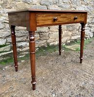 Antique Victorian Mahogany Side Table (16 of 17)
