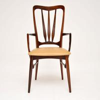 1960's Danish  Rosewood &  Leather Dining Chairs by Niels Kofoed (4 of 12)
