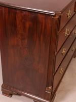 Good Rare George II Chest of Drawers Red Walnut (10 of 10)