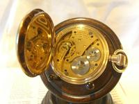 Antique Pocket Watch 1909 Waltham USA 7 Jewel 10ct Gold Filled Fwo (11 of 11)