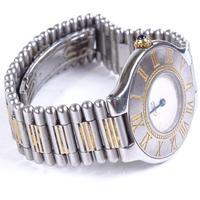 Ladies Stainless Steel Must De Cartier Quartz Wristwatch (5 of 5)