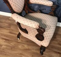 Victorian Burr Walnut & Inlaid Salon Suite (14 of 38)