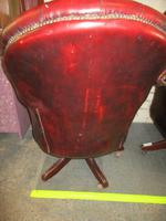 Chesterfield Revolving Leather Directors Chair (4 of 4)