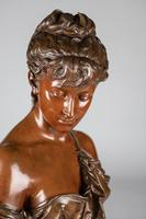Superb Quality 19th Century French Bronze & Marble Sculpture by Eutrope Bouret (14 of 15)