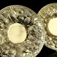Magnificent Georgian Pair of Solid Silver Gilt Charger / Platter Dishes - George Burrows 1824 (4 of 27)