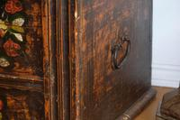 19th Century Austrian Folk Art Painted Pine Coffer (11 of 23)