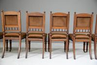 6 Victorian Walnut Dining Chairs (11 of 11)
