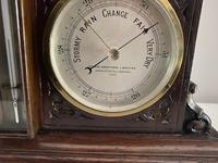 Clock, Barometer & Thermometer by Thomas Armstrong & Brother (3 of 4)