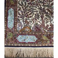 Superb Persian Silk Rug. Tree of Life Design (6 of 9)