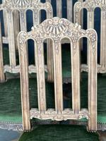 Set of 6 French Oak Farmhouse Dining Chairs (7 of 10)