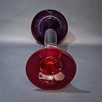 Italian Murano Art Glass Trumpet Vase (3 of 4)