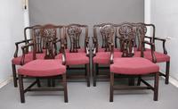 Set of Ten Mahogany Armchairs by Alfred Allen of Birmingham (2 of 13)