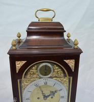 Georgian Verge Fusee Bracket Clock Christopher Bullock, London (6 of 6)
