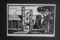 Album of 10 Woodblock Prints by Geoffrey Robert Russell (11 of 12)
