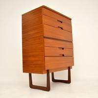 Walnut Chest of Drawers by Uniflex  Vintage  1950's (6 of 11)