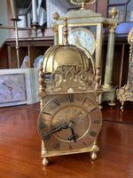 Lantern Clock made in England - Coventry Movement 1930's 8 Day
