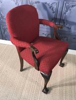 Mahogany Desk Chair c.1920 (8 of 8)