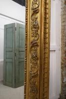 Very Large French 19th Century Louis Philippe Gold Mirror (8 of 12)