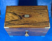 Victorian  Rosewood Stationary Box (26 of 33)