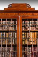 Regency Period Mahogany Two Door Bookcase (2 of 6)