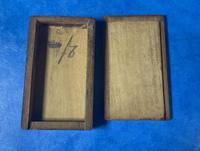 Victorian  Miniature Italian Sorrento Olive Wood Snuff Box (10 of 12)