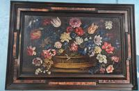 18th Century Flemish Painting, Oil on Panel (10 of 10)