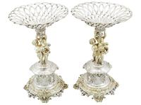 Sterling Silver Centrepieces - Antique Victorian 1860 (23 of 24)