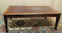 Large Mahogany Library Table /  Boardroom Table (2 of 8)