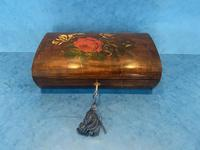 Victorian Belgium Painted Box in Holly (5 of 13)
