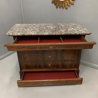 Louis Philippe Marble Top Commode (6 of 6)