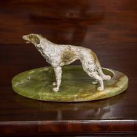 Cold Painted Bronze Borzoi Desk Companion (2 of 7)