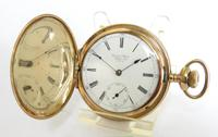 Antique United States Watch Co Hunter Pocket Watch (2 of 5)