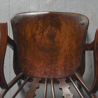 Victorian Elm & Mahogany Country Chair (4 of 8)