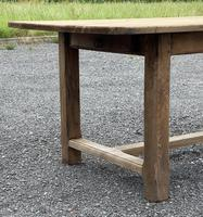 Large French Bleached Farmhouse Dining Table (17 of 26)