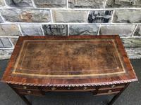 Antique Mahogany Writing Table (3 of 11)