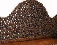 Burmese Davenport Desk Antique Hand Caved Burma Furniture 1885 (7 of 11)