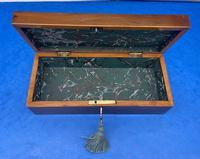 Victorian Irish Killarney Ware Glove Box (10 of 12)