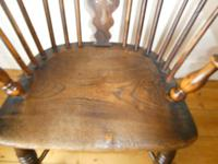 Early 19th Century Yew Windsor Chair (3 of 8)