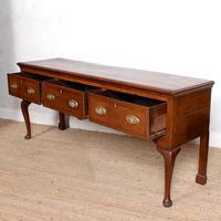 Georgian Oak Dresser Base Sideboard Mahogany George III (4 of 14)