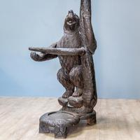 Black Forest Carved Bear Hall Stand (5 of 9)