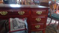Victorian Mahogany Desk (6 of 6)