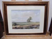 Watercolour Middlebere Heath Listed Artist Ronald Birch (5 of 10)