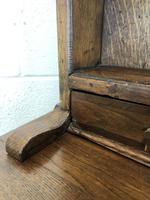 Antique Oak Pot Board Dresser (16 of 18)