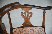 Antique Oak Corner Chair (7 of 12)