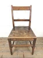 Two Similar 19th Century Oak Bar Back Farmhouse Chairs (4 of 10)